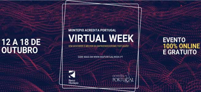 Imagem da notícia Montepio Acredita Portugal Virtual Week