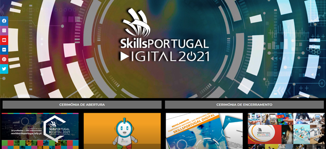 Imagem da notícia SkillsPortugal, Digital 2021 – um site dedicado para um evento pioneiro