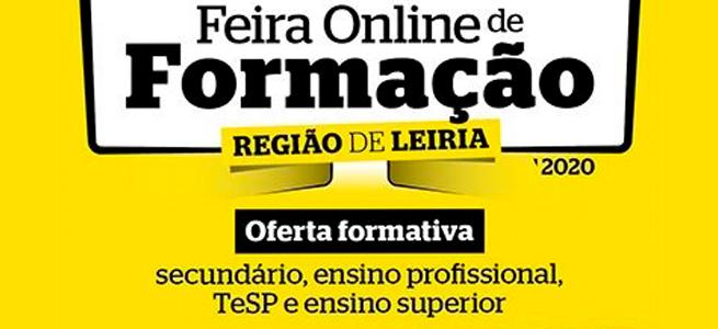 Imagem da notícia IEFP participa na Feira Online de Formação – Região de Leiria 2020