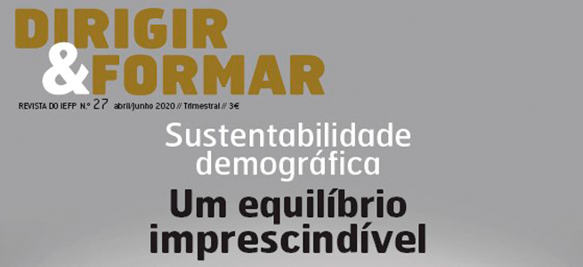 Imagem da notícia Já disponível a Dirigir & Formar nr. º 27